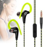 Wholesale Original Sport Headphones Running Earphones Waterproof Portable Headset Bass Hifi Earbuds With Mic For All Mobile Phone MP3