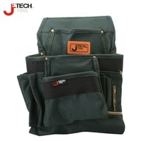 Wholesale Jetech durable water proofing waist technician tool pouch bag organizer medium size screwdriver wrench combo carry holder BA M3