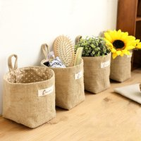 baby cake shop - Misterolina Cute Shopping Bags Storage Canvas Bags Laundry Bag Pouch Baby Kids Toys Shopping Bag Cute Wall Pocket L09813