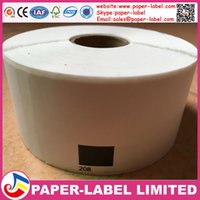 address labels paper - 20x Rolls Brother Compatible Labels dK x mm labels per roll Thermal paper Sticker dk dk address label