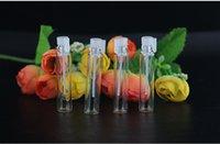 Tester perfume Prix-DHL ship 1ML 2ML 3ML 1000pcs mini flacon de parfum en verre, parfum Flacon d'échantillons liquide, bouteille testeur Bouteille à vide Vases remplissables