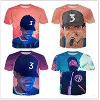 Crew Neck acid t shirts - Newest Fashion womens mens Chance The Acid Rapper Funny D Print casual T shirt XTXP22