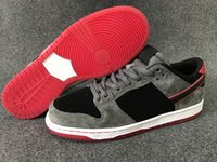 Sb dunks France-SB Dunk Basse Pro Ishod Wair Hommes Chaussures de Skate Noir Gris Rouge Haute Qualité Chaussures de sport Athletic Sneaker Outdoor