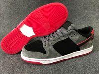 Sb dunks France-SB Dunk Low Pro Ishod Wair chaussures de skate pour hommes Noir Gris Rouge Chaussures de sport sportive extérieure athlétique pour femmes de haute qualité