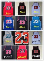 badminton uniforms - Top Quality Retro Michael Bulls men jerseys tshirts jerseys sport uniform Kids Youth Men stitched jerseys throwback tshirts