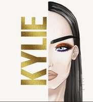 Wholesale 2017 New Kylie Jenner Makeup Kylie Royal Peach Eyeshadow Palette Colors Eye Shadow Kit With Brush DHL