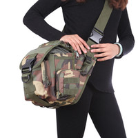 backpack camera bags for women - New Arrival Army Tactical Backpack Oxford Camouflage Waist bag For Outdoor Casual Camping Traveling Hiking Trekking Camera Cross Bags