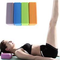 aerobic pilates - brick eva Block foam Yoga Block yoga Brick Aerobic Pilates Foam Exercise Fitness Health Gym Sport Tool spor aleti