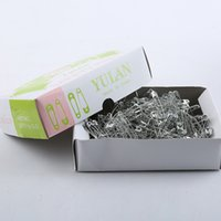 Wholesale Factory direct sales fine Yu Lan licensing long box security pin off needle deduction needle daily priority
