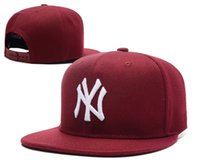 Wholesale 2017 New NY Baseball Caps Hiphop Men Women Adjustable Hats D embroidery MLB New York Yankees Snapback Cap Headware