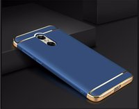 Wholesale Xiaomi Redmi Note Case Smart cover Xiaomi Redmi Note Pro silicone Back Cover PC Frame For Xiaomi redmi Note4 case