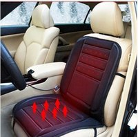 Wholesale Universal Car Heated Seat Cushion Cover Auto V Heating Heater Warmer Pad Winter Seat Cover High Quality Car covers