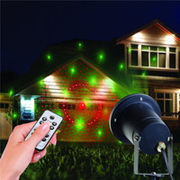 Wholesale New Hot Modern Outdoor Indoor Patterns Gobos Laser Projector Landscape Garden Yard Lawn Snow Lighting Home Light Show House