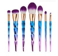 Wholesale New Brush kit Professional Vander Cream Power Professional Makeup Brushes Multipurpose Beauty Cosmetic Puff Batch Kabuki Blusher