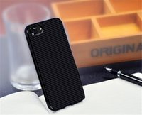 For Apple iPhone best iphone carbon fiber case - best iphone case D Texture Fiber Carbon Soft Case For iPhone S For iPhone SE Leather Skin Cover Dual Layer Luxury Phone Cases