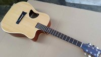 Wholesale Solid Xi Tika acoustic electric guitar inch with tuner