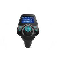 Wholesale Car MP3 Bluetooth fm broadcast transmitter with Hands free calling and play MP3 WMA music from USB Micro SD AUX IN