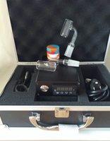 alluminum case - Newest Temperature Control Case Dnail E nail Kit Camouflage Green Black Walnut With Enail mm coil heater Quartz nail in Alluminum box