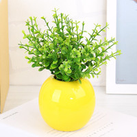 Wholesale Small Leaves Plants - 20pcs Artificial Small Leaves Plant 5 Branches Eucalyptus Grass Foliage Flower Leaf Garland Plant Home Decoration