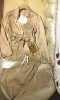 Wholesale Winter new temperament bag pockets pants suit jacket