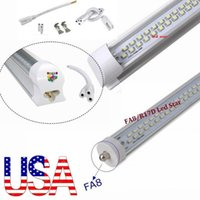 Wholesale Integrated t8 led tubes w ft single pin fa8 led light tubes Double sides SMD led lights AC V Stcok in US