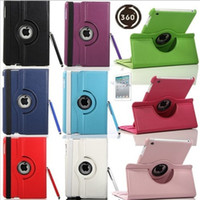 Wholesale 360 Rotating leather case Smart cover For iPad pro air3 air Mini Rotary Stand