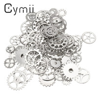 antique clock parts - Craft Alloy Charms Wheel Gears Antique Vine Craft Watch Clock Parts for Home Cloth Decoration Pendant Watch Repair Tool