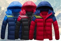 Wholesale HOT Winter New Fashion Men Cotton padded clothes Sports Coat Outdoor Down jacket coat