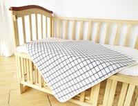 Wholesale Baby Cotton Mat Super Waterproof Sheets Washable Cotton Pad Children Leak Proof Urine Pad Four Layer
