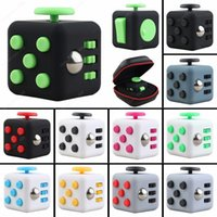 Wholesale Fidget Cube Children Desk Toy Adults Stress Relief Cubes Toys Fun Gifts