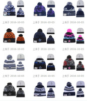 beanie prices - New style Beanies Dallas Pom Knit Hats Sports Cap Beanies Hat Mix Match Order All Caps in stock Top Quality cheap price Hat