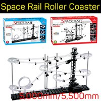 big ball toy - SpaceRails Space Rail Mini marble Roller Coaster with Steel Balls Level Game mm mm DIY Educational kit Puzzle Toys