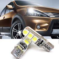 Car Styling T10 5050 6SMD Ancho de luz del coche de luz interior del coche Led luz de lectura del estroboscópico DC12V Luz de cristal Destacado Ninguna advertencia