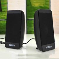 Wholesale On sales Portable USB Mini Speaker Sound box Multimedia pc Speaker For Laptop PC Computer fashionable