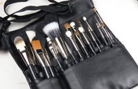 artists pockets - Make up artist makeup artist special makeup pockets capacity PU make up wrap makeup brush package HM016
