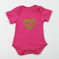 Wholesale Girls raglan tee shirt toddle romper iron little sister clothing infant baby fashion tee shirt solid clothes hispster clothes