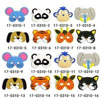 Wholesale Felt Animals Mask Cosplay Captain For Birthday Gifts Kids Princess children Adult Costume Masks Custom Styles