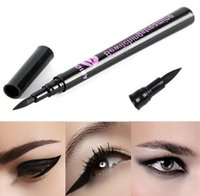 Liquid Eyeliner 1 Liquid Eyeliner Wholesale-Hot Sale! Women Lady Black Waterproof Eyeliner Liquid Eye Liner Pen Pencil Makeup Beauty Cosmetic Tools