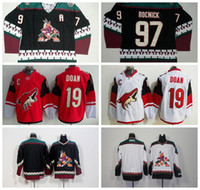 Wholesale Cheap Men s Arizona Coyotes Shane Doan Red White Black Classic CCM Throwback Vintage Blank Jeremy Roenick Jersey Embroidery Sewing Lo