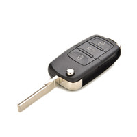 Wholesale Cindytoys x Buttons Car Key Case for Golf Passat Polo Fob Cover Shell Folding Flip Durable