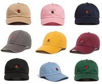 Wholesale 2017 Exclusive customized design Brands The Hundreds Rose Strap Back Cap men women Adjustable golf snapback baseball hat casquette snapbacks