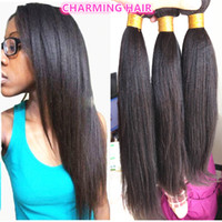 american sheds - indian remy hair natural black no shedding no tangle for african american light yaki hair weft bundles