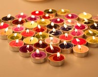 Wholesale Candles romantic meal birthday gift tea candle and propose creative props wax candles
