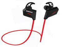 active noise cancellation - PK Beat BRONZEMAN Bluetooth Headset Sweatproof Headphones Wireless In Ear Stereo With Active Noise Cancellation Retail Pack For iPhone