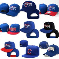 Wholesale 2016 World Series Champions Chicago Cubs Baseball Snapbacks Adjustable Cap Hat Caps Hats All Teams Available Mix Order