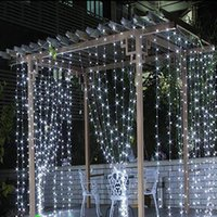 Wholesale LED Curtain String Light Christmas Lights LED M LED Lights New year christmas led Lights Garden Wedding Party Lighting