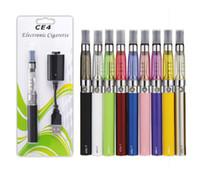 Cheap CE4 eGo blister Kit Electronic cigarette e cig kit 650mah 900mah 1100mah Ce4 Tank EGO-T battery blister Clearomizer Vape E-cigarette kit