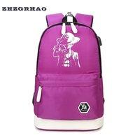 Wholesale Pirates Wang Shishang canvas bag style backpack backpack outdoor bag men and women