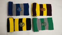 Wholesale 1 autumn gryffindor harry potter series scarf and badge personality animation scarf shawl unisex