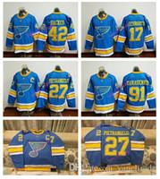 Wholesale 2017 Winter Classic Premier Jersey St Louis Blues Schwartz Alex Pietrangelo Vladimir Tarasenko Stitched Hockey Jerseys Mix order
